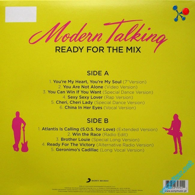 Modern Talking - Ready For The Mix (2017) 2.jpg