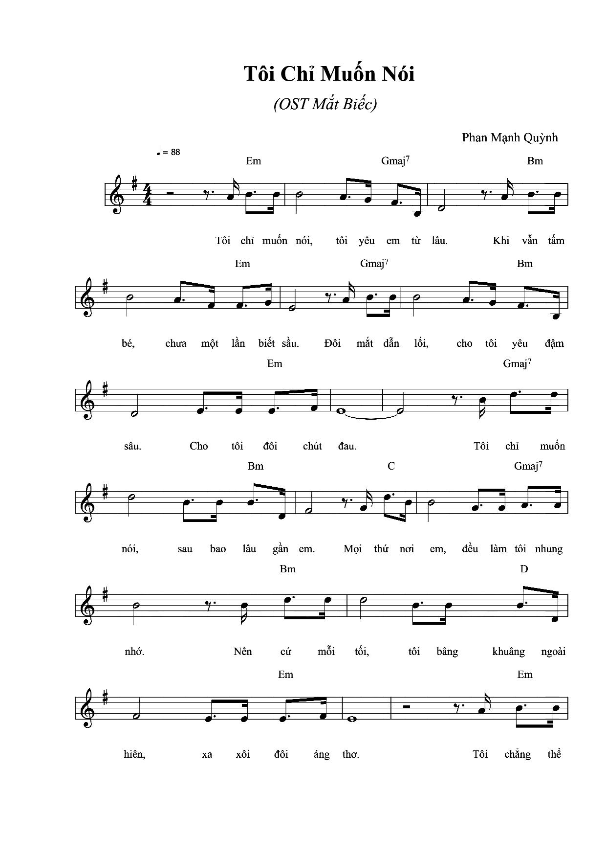 Sheet nhac Toi chi muon noi -OST Mat biec-Em_001.png